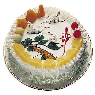 鲜奶水果蛋糕/福愿(8寸)