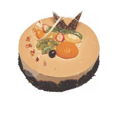 咖啡味慕思蛋糕/卡布基诺(8寸)