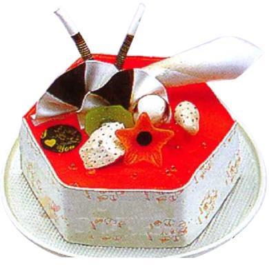 冰淇淋蛋糕/爱之乐章(8寸)
