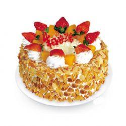 植物鲜奶蛋糕/喜气洋洋(8寸)