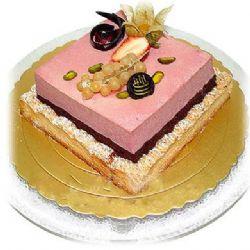 方形2层鲜奶蛋糕/糕朋满座