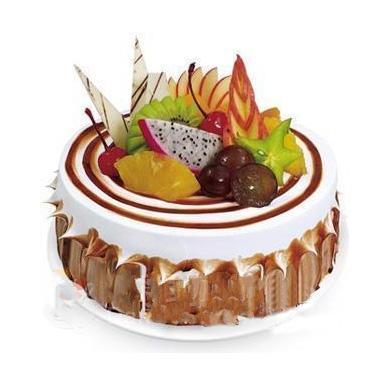 植物鲜奶油蛋糕/鲜果塔(8寸)