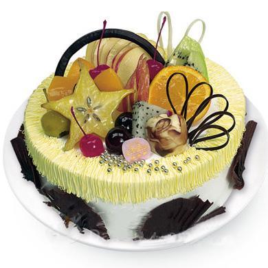 水果蛋糕/秋的旋律(8寸)