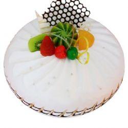 圆形鲜奶水果蛋糕/纯真年代(8寸)