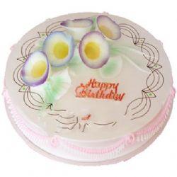圆形鲜奶蛋糕/奇缘(8寸)