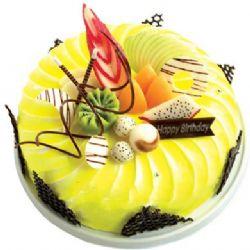圆形鲜奶水果蛋糕/甜美(8寸)