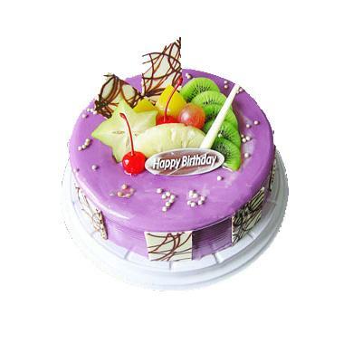 香芋(或蓝莓)蛋糕/芋泥恋曲(8寸)