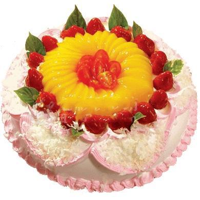 鲜奶水果蛋糕/绽放(8寸)