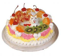 鲜奶蛋糕/可爱猪仔(8寸)