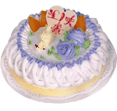 植物鲜奶蛋糕/争强好胜(8寸)