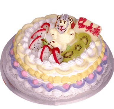 植物鮮奶蛋糕/天資嬌美(8寸)