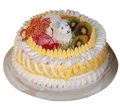 植物鲜奶蛋糕/情意绵绵(8寸)