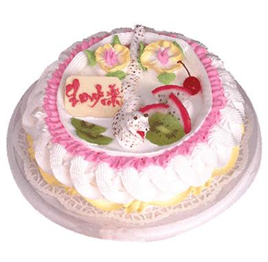 植物鮮奶蛋糕/能言善辯(8寸)