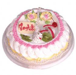 植物鲜奶蛋糕/能言善辩(8寸)