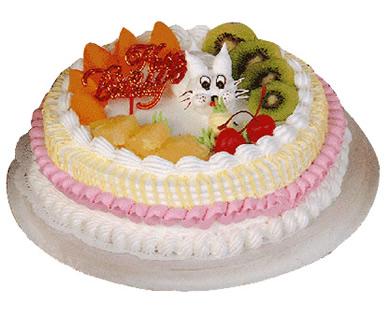 植物鲜奶蛋糕/温纯小情人(8寸)