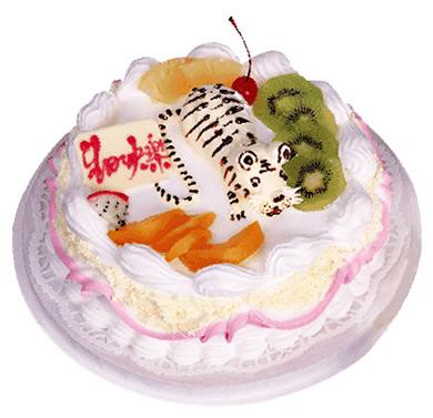 植物鲜奶蛋糕/胜者为王(8寸)