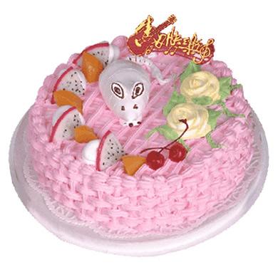 植物鲜奶蛋糕/谨小慎微(8寸)
