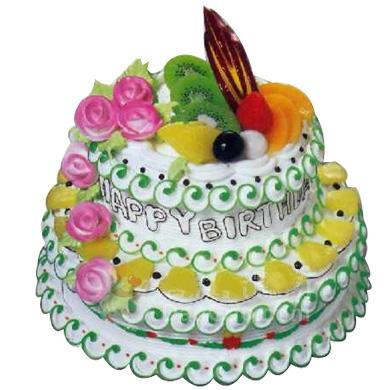 兩層圓形蛋糕/把愛留給你