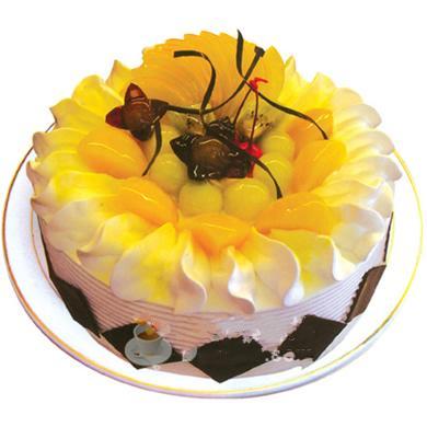 圓形鮮奶水果蛋糕/盛夏的果實(8寸)