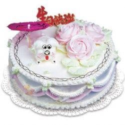 鲜奶蛋糕/缘定今生(8寸)