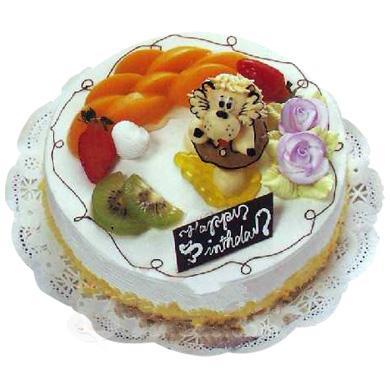 冰淇淋蛋糕/水果卡通(8寸)