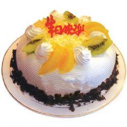 �A形�r奶水果蛋糕/甜蜜�r光(8寸)