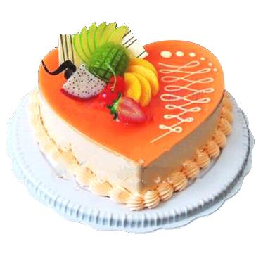 心形乳酪蛋糕/愛之舞(8寸)