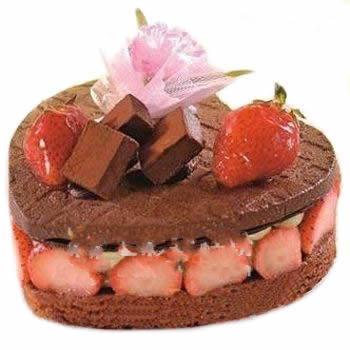 心形黑森林蛋糕/品味(8寸)