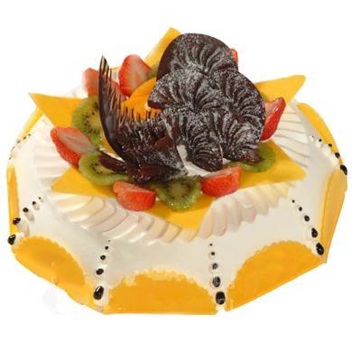鲜奶巧克力蛋糕/夏日夕阳(8寸)