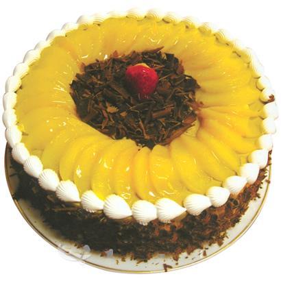 圓形水果蛋糕/冬日暖陽(8寸)