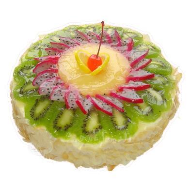 鮮奶水果蛋糕/假日風情(8寸)