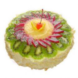 鲜奶水果蛋糕/假日风情(8寸)