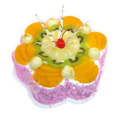 鲜奶水果蛋糕/花样年华(8寸)