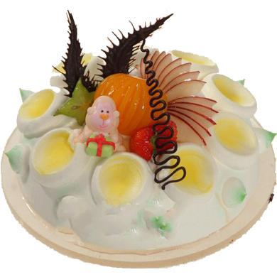 鮮奶水果蛋糕/童心未泯(8寸)