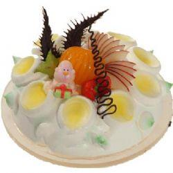 鲜奶水果蛋糕/童心未泯(8寸)