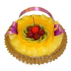 水果圆形蛋糕/唯一的爱(8寸)