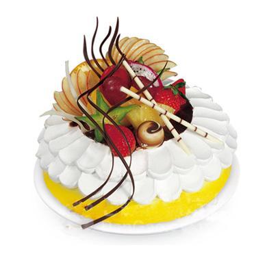 奶油水果巧克力/沁芳园(8寸)