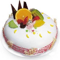 �A形�r奶水果蛋糕/激情�o限(8寸)