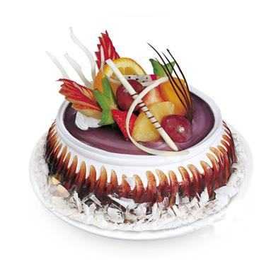 水果巧克力蛋糕/如痴如醉(8寸)