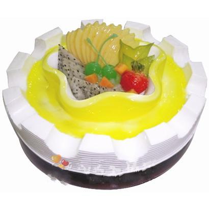 圆形鲜奶蛋糕/馨香(8寸)