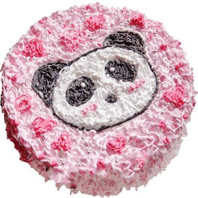 圆形鲜奶蛋糕/阳光宝贝(8寸)