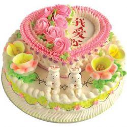 双层鲜奶蛋糕/青葱时光