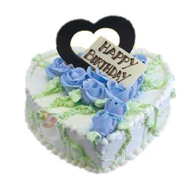 鮮奶蛋糕/藍色愛戀(8寸)