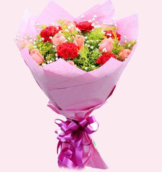 10朵红色康乃馨/最爱的妈妈