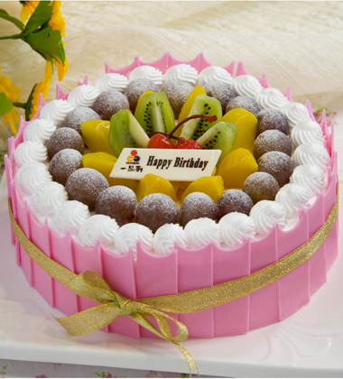 最适宜场合: 生日 tags: 一品轩蛋糕 尺寸: 默认8寸蛋糕 8寸 10寸 12