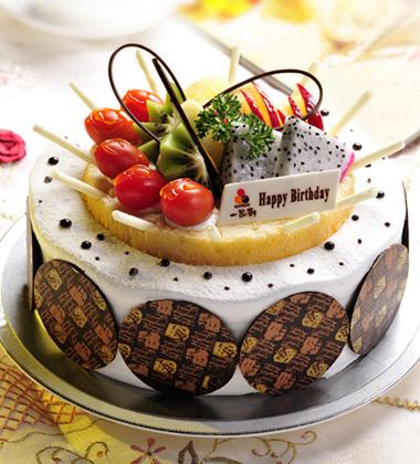 一品�蛋糕/欣欣向�s(8寸)