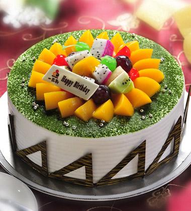 一品轩蛋糕/春色满园(8寸)