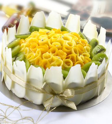 一品�蛋糕/婉�s盛放(8寸)