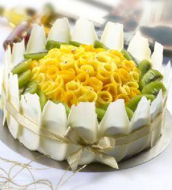 一品轩蛋糕/婉约盛放(8寸)