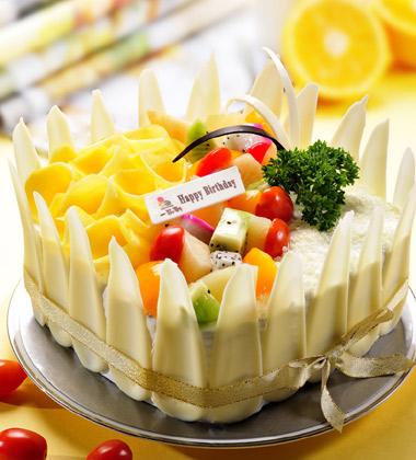 一品�蛋糕/花之���(8寸)
